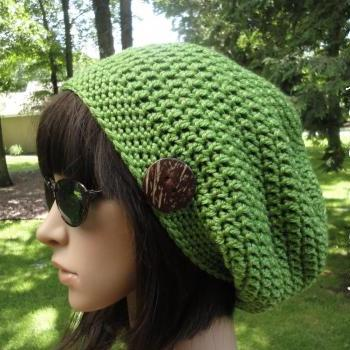 Free Crochet Pattern For Mens Slouchy Beanie : Crochet Hat Pattern - Womans Slouchy Hat - Unisex Slouchy ...